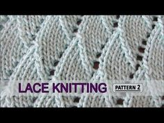 Overlapping Waves | Lace Knitting Pattern #2 - Knitting Story