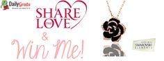 We are giving away a free Swarovski Elements Pendant! Please enter