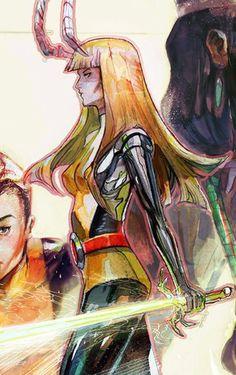 #Magik of the new mutants
