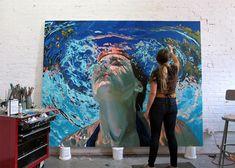 Los sublimes y maravillosos retratos bajo el agua pintados al óleo por Samantha French