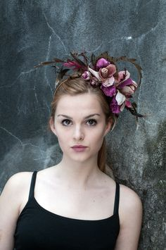 Hat by Lomax and Skinner, modelled by Gemma, photographed by www.100Designs.co.uk