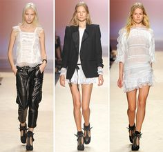 Isabel Marant Spring/Summer 2014 RTW - Paris Fashion Week  #PFW #fashionweek #ParisFashionWeek