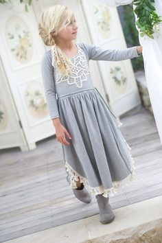 Tea Princess Harper Dress www.teaprincess.com.au tassle dress girls dress