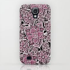 Wildflowers (Blushing Magenta) Samsung Galaxy S4 Case by Lisa Argyropoulos