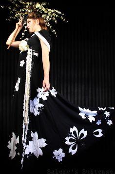 Sakura Hoodie Wrap Gown by katherinesummer on Etsy, $800.00