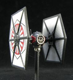 TIE Fighter FO - repaint with LEDs