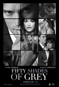 "selflesswinnerdesigns: "" Fifty Shades Of Grey - Poster - Final Poster "" Wow!"