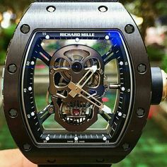 Richard Mille RM 052 Tourbillon Skull >> Instagram