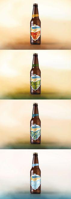 Leksands Bryggeri concept by Viktor Forsman Label Design, Packaging Design, Beer Label, Beer Brewing, Bottles, Concept, Design Packaging, Package Design