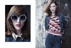 // DENIM HAZE // Photographer: Agata Stoinska / Stylist: Tanya Grimson /  Model: Stacey Haskins - Morgan The Agency / Hair Stylist: Trudy Hayes /  Make-Up: Mary Ellen Darby //  AS SEEN ON http://www.maven46.com/editorials/denim-daze/editorial/