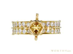 GIA 3.25 CT Round Cut Solitaire Ring, M-Z, VVS2 Sold at Auction for $11,992