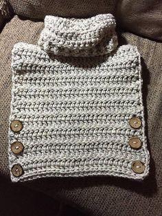 Ravelry: Vasquez Pullover Vest pattern by Rebecca Romero Crochet Toddler, Crochet Baby Clothes, Crochet For Kids, Free Crochet, Knit Crochet, Crochet Cape, Crochet Stitches, Crochet Patterns, Crochet Edgings