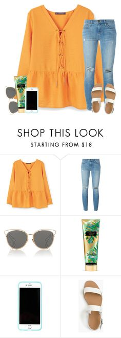 """lovin life"" by ashtongg117 ❤ liked on Polyvore featuring Violeta by Mango, Current/Elliott, Christian Dior, Lilly Pulitzer and J.Crew"