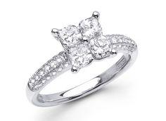 Calla Cut Diamond Ring