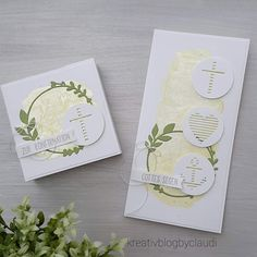 Big Shot, Paper Cards, Confirmation, Communion, Creative, Stampin Up, Blog, Gifts, Inspiration