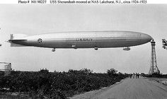 Historical airship photo from the US Navy Archive  ~ BFD
