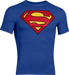 Classic #superman logo Under Armour Men's Alter Ego Compression Tee #BatmanvSuperman https://www.thegraphicedge.com/catalog/under-armour-men-s-alter-ego-compression-tee