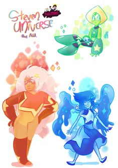 I just saw the latest Steven Universe and as usual it blew my mind away. Steven Universe the AU Universe Images, Universe Art, Steven Universe Mom, Gravity Falls, Lapis And Peridot, Cartoon Network Shows, Fanart, Disney Fan Art, Cool Cartoons