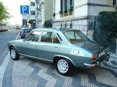 Peugeot 504. My first car.