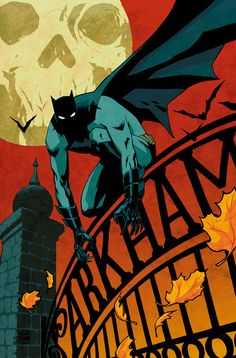 "Comic Cover Artwork ~ ""Detective Comics 864"" ~ One comic from the Batman Detective Comic series ~ Cover artist: Cliff Chiang"