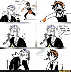 I don't think Abbachio would actually do that. And he especially wouldn't let his baby do it. Gang Mother Bruno would kill him