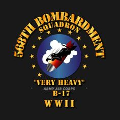 Check out this awesome '568th+Bomb+Squadron+-+WWII' design on @TeePublic!