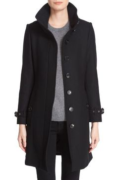 Burberry Brit 'Gibbsmoore' Funnel Collar Trench Coat available at #Nordstrom