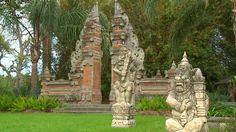 A taste of Bali at Jefferson Island Rip Van Winkle Gardens in New Iberia, Louisiana.