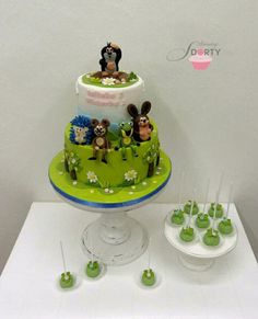 Baby Cakes, Cake Cookies, Fondant, Food And Drink, Horse, Cooking Recipes, Cake, Amigos, Kuchen