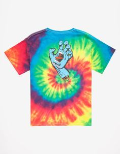 SANTA CRUZ Screaming Hand Boys T-Shirt
