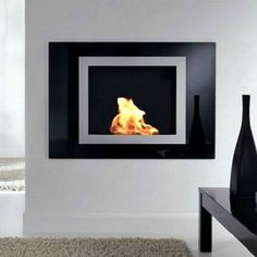 Expresione Gas Burning, Wall Mounted Fireplace by Planika USA on HomePortfolio