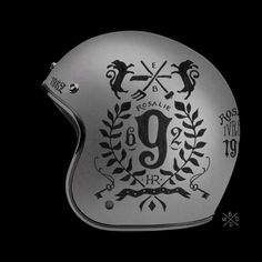 The French graphic design studio BMD present its private collection ofhelmets designed with resolutely old school influences.