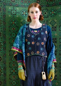 """""""Irma"""" organic cotton vest – Blouses waistcoats – GUDRUN SJÖDÉN – Webshop, mail order and boutiques 