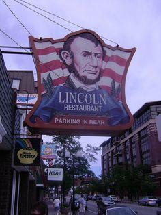 Lincoln Restaurant....Chicago, Illinois