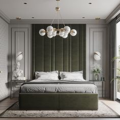 Simple neoclassic bedroom on Behance Bedroom Furniture Design, Home Room Design, Modern Classic Bedroom, Neoclassical Interior, Home Bedroom, Luxurious Bedrooms, Simple Bedroom, Modern Luxury Bedroom, Luxury Bedroom Master
