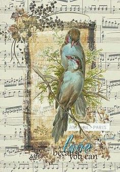 Blue bird note