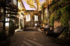 The Front Door / Dwayne Carruth - contemporary - landscape - new orleans - The Front Door / Dwayne Carruth-- love everything but the chairs...