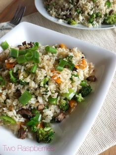 Veggie Fried Rice Vegan and Gluten Free