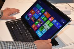 Samsung Launches Dual Operating Tablet, Ativ Q, Based On Windows 8 And Google's Android 4.2.2....