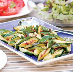 SAUTEED ZUCCHINI WITH SUN-DRIED TOMATOES & BASIL From Fine Cooking 65, pp. 49, July 1, 2004  http://www.finecooking.com/recipes/sauteed-zucchini-sun-dried-tomatoes-basil.aspx?ac=ts=fp   ⇨ Follow City Girl at link https://www.pinterest.com/citygirlpideas/ for great pins and recipes!  ☕