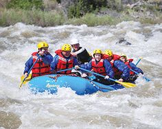 Go with the flow. Go whitewater rafting with Outdoor Recreation.  Experience one of the most iconic, thrilling and popular summer adventures around: whitewater rafting. And it's a summer must-do for everyone stationed here or visiting Colorado.  Hold on! It can be a cross between riding a roller coaster and riding a bucking bronco.  Our certified guides will navigate you through heart-pounding sections of the Arkansas River, one of the most rafted rivers in the country.