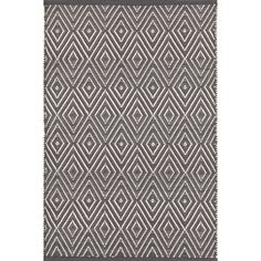 Shine on, crazy diamond! This best-selling, eye-catching geometric area rug -- in washable, fade-resistant polypropylene -- is a shining gem.