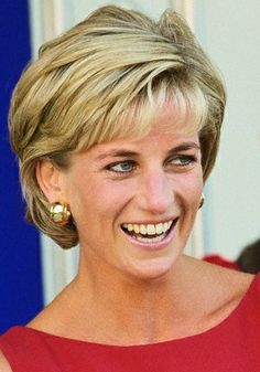 Six weeks before her fatal car accident, Diana chose these wide gold hoop earrings when she attended the groundbreaking ceremony at St. Mark's Hospital to lay the foundation stone for the new Children's Ambulatory Care Centre on July 21, 1997.