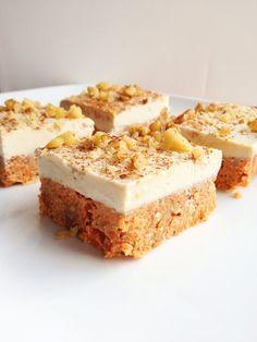 Raw Carrot Cake - Will Bake for Books