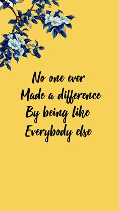 Inspirational quote wallpaper - - #wallpaper #lockscreen #flowers #quote #inspiration #yellow #blue