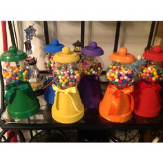 Candyland theme party centerpieces already making some of these..for my daughters 15.
