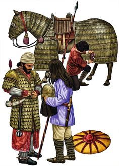 i& try to improve activity on this forum by posting some pics, actually i have a lot of such pics but it will take time to upload them all. I will begin with ancient warriors. Military Art, Military History, Byzantine Army, Sassanid, Varangian Guard, Ancient Persian, Medieval World, Dark Ages, Historical Pictures