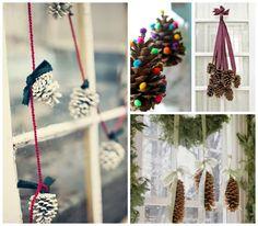10 pomysłów na świąteczne dekoracje okien | Sen Mai - techniki DIY, wnętrza, uroda, wyzwanie foto
