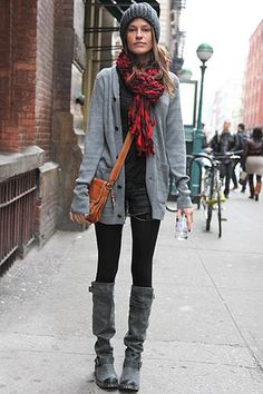 scarves and cardigans. this is my uniform.