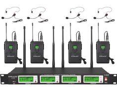 GTD Audio G787L UHF Diversity Wireless Microphone Lapel Lavaliere Mic